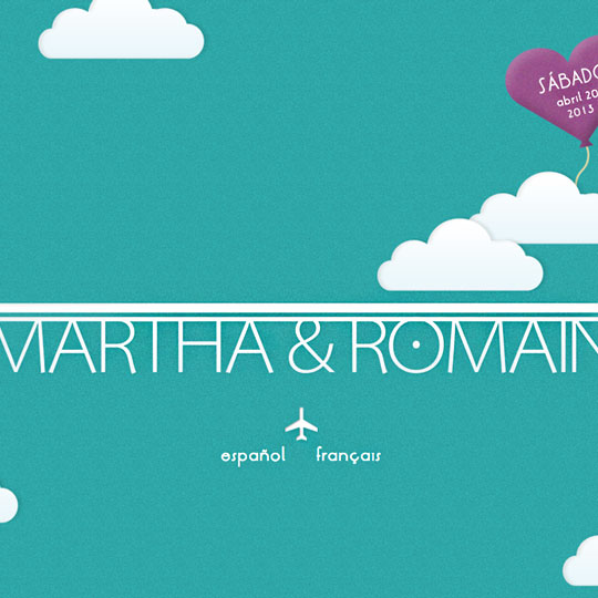 Martha & Romain's site